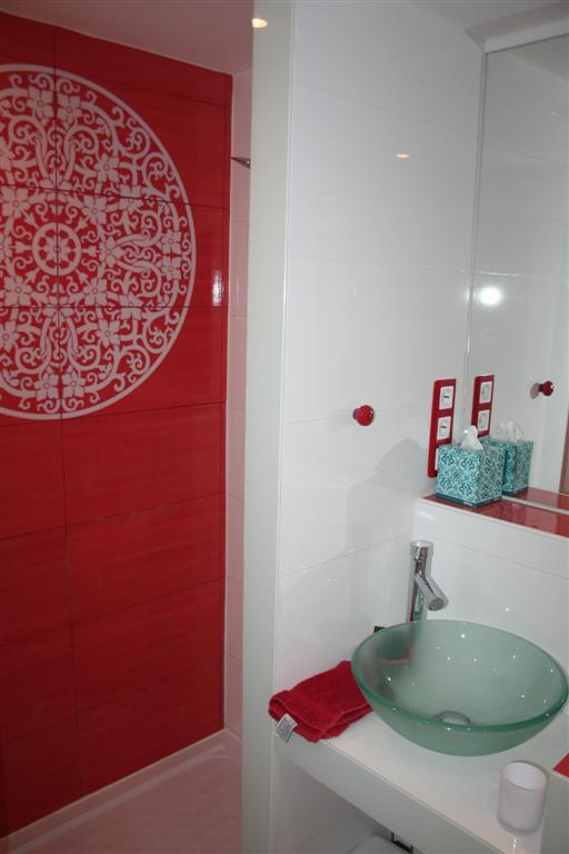 shower room at the Ground floor