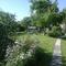 Le fond du jardin.