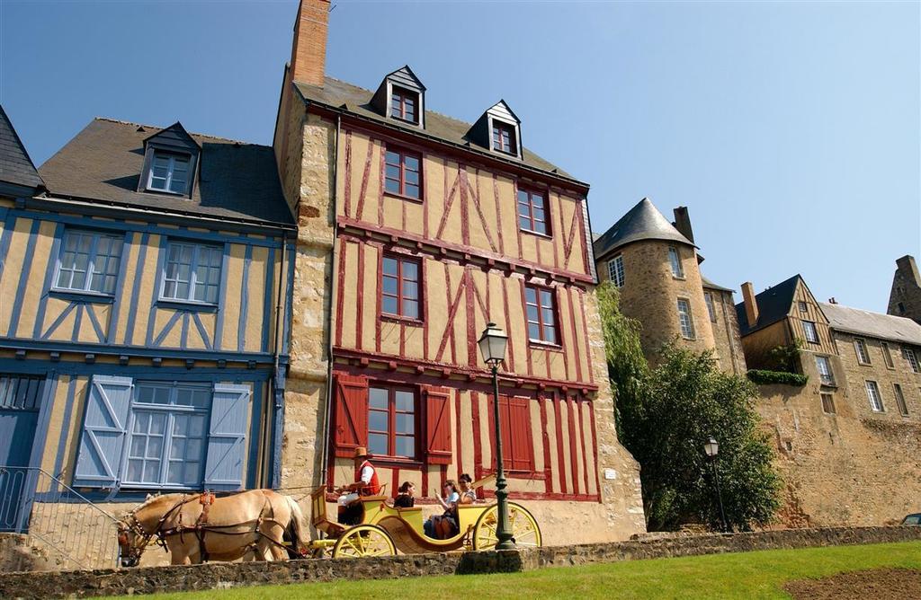 Maisons à pans de bois, vieille ville du Mans