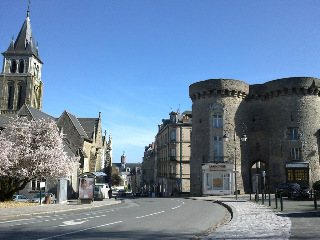 Laval, Porte Beucheresse