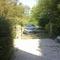 Le fond du jardin, notre véhicule : Peugeot 308 automatique.