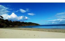 binic beach - l'avant port.