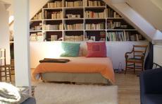 Parent's bedroom (bedroom n°4) in the attic