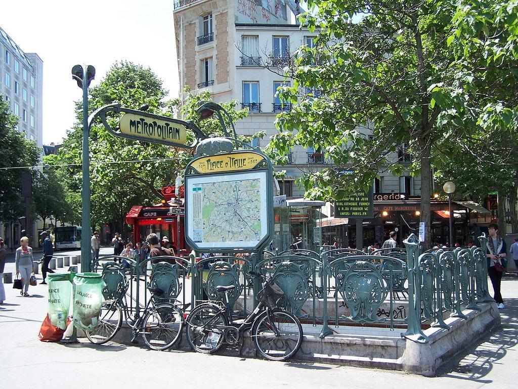 Metro - Place d'Italie