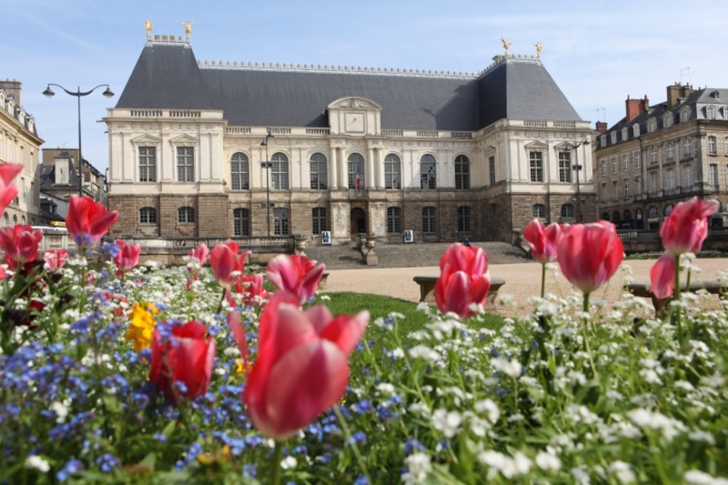Rennes le parlement de Bretagne