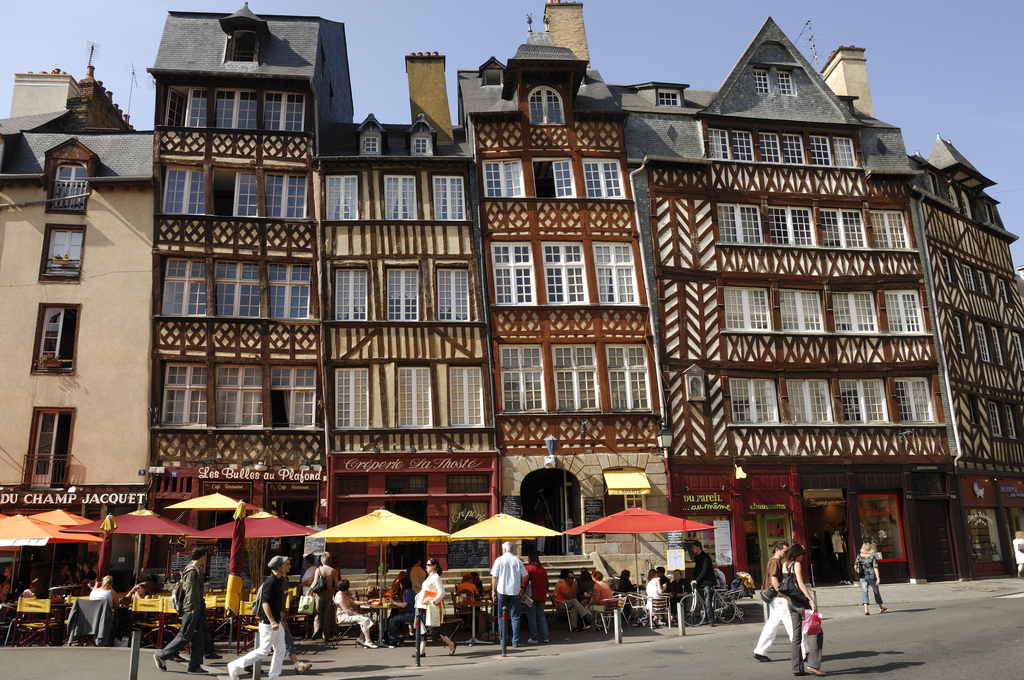 old city of Rennes