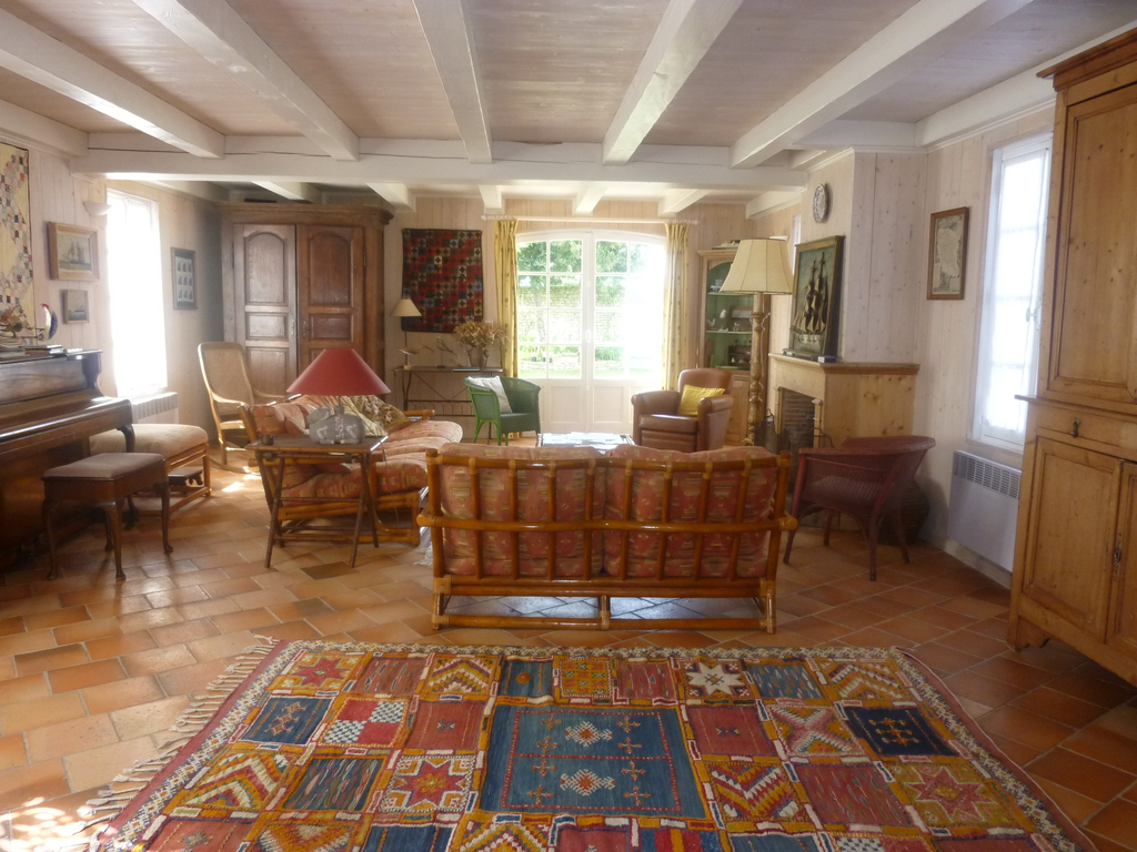 Main living room in Ile de Ré