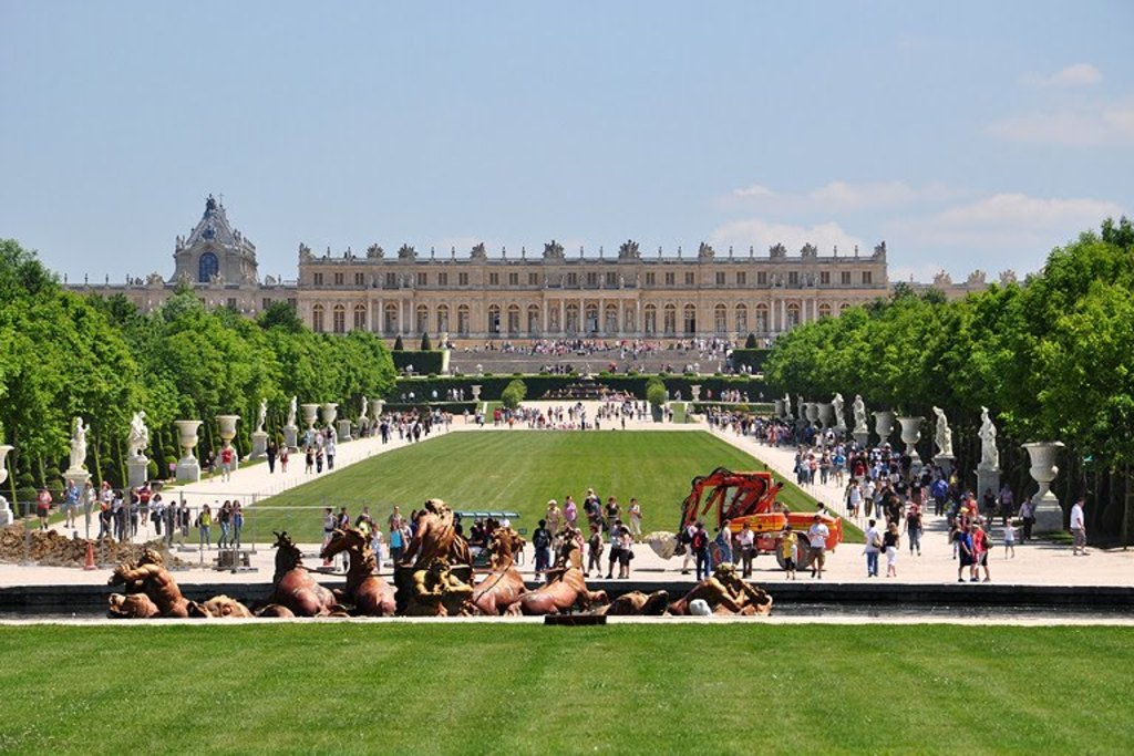 Versailles Palace (accross the street)
