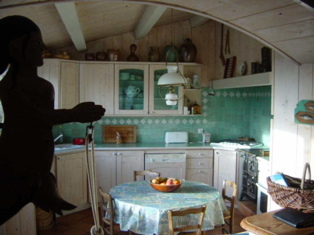 Ile de Ré kitchen