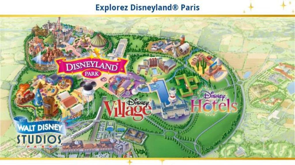 Disneyland Paris (less than 1 hour)