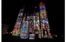 Rouen's Cathedral Light Show every Night in Summer