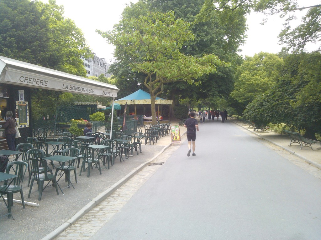 parc montsouris / café