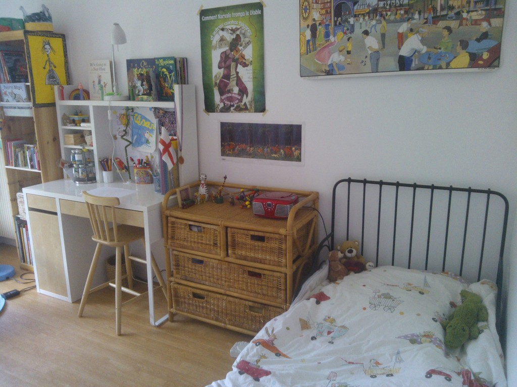 third bedroom /child single bed