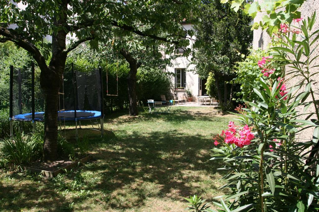 Le jardin et la maison