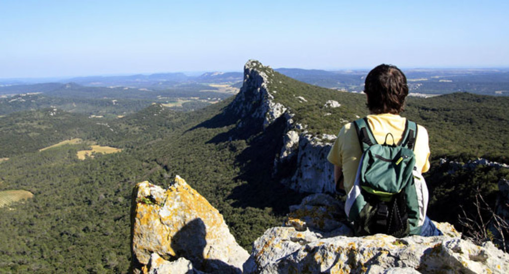 you can walk easily at the top of Pic Saint-Loup (2 or 3 hours of walking from the bottom), 30 mn from the house by car