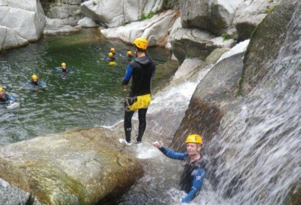 canyoning at St-Jean-de-Cuculles, 37 mn by car