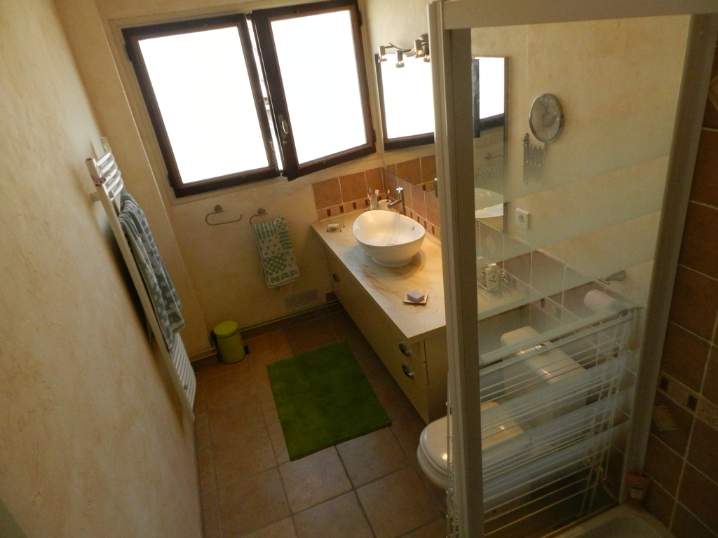 La salle de bains - The bathroom
