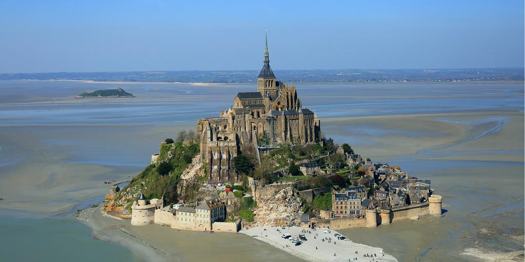 Le célèbre Mont Saint Michel