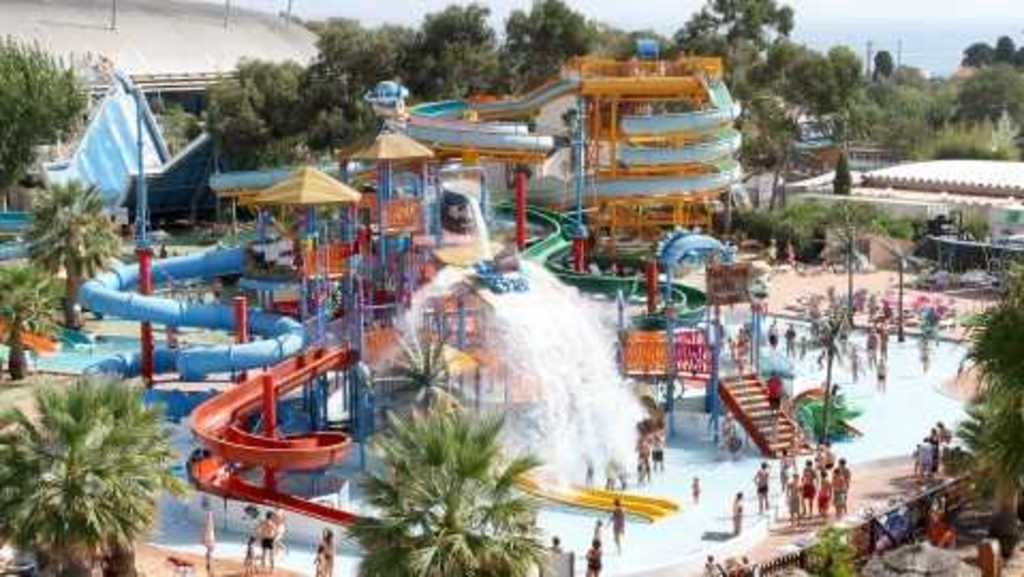 Antibes : Aquasplash water park (20minutes by train or car)