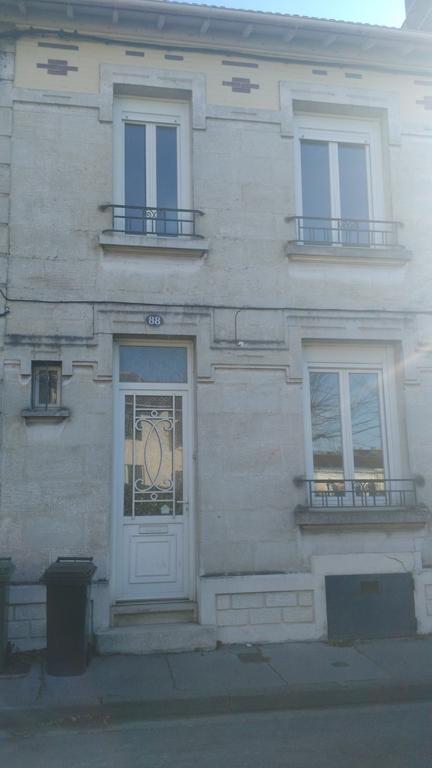 La facade de notre maison