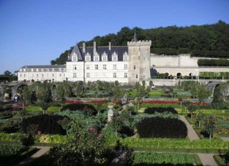 Villandry château et jardins