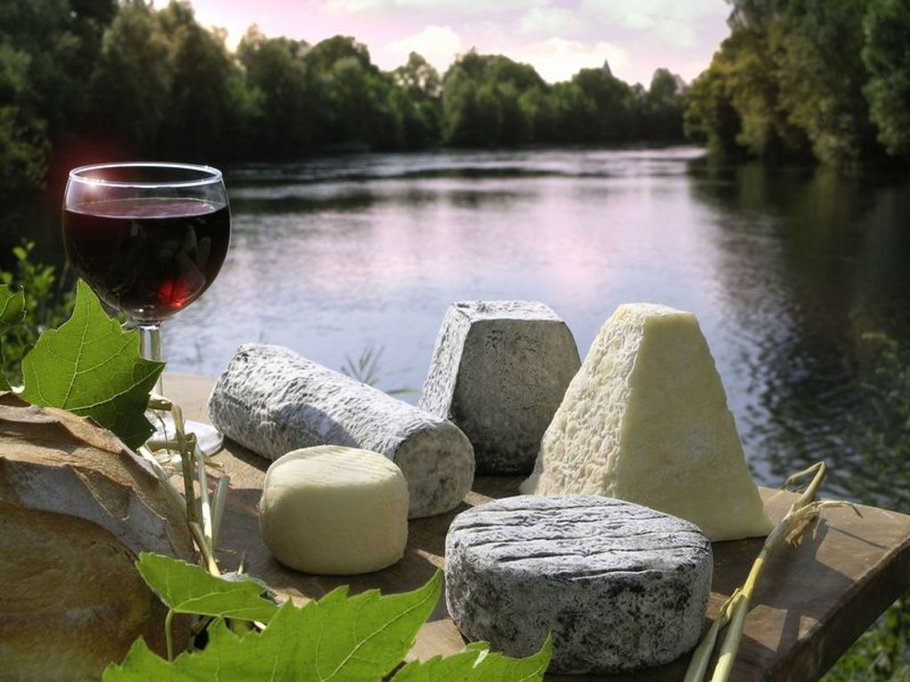 cheese and wine from our country