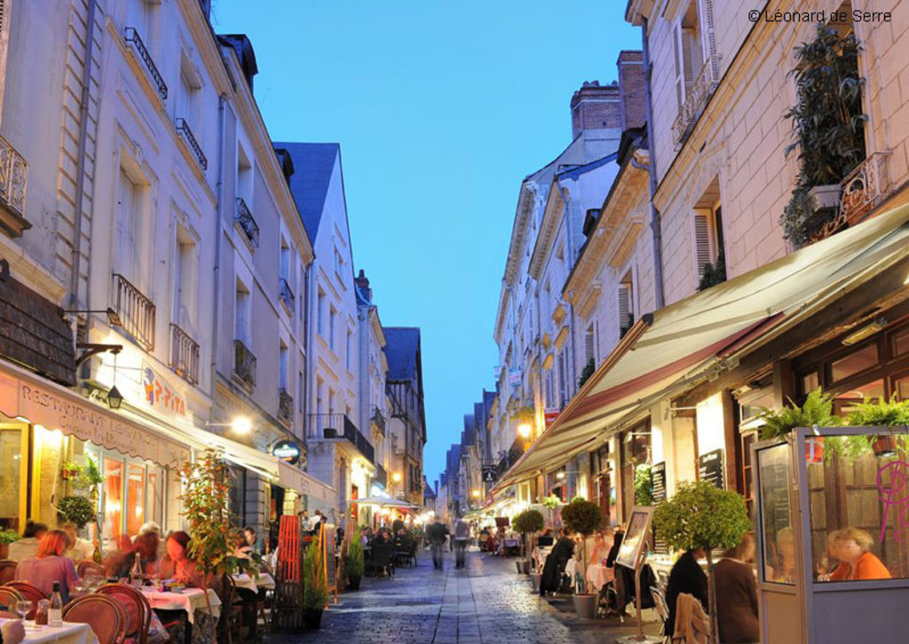 restaurants dans le vieux Tours/ restaurants in old town
