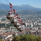 city cable-car to reach the 'bastille' moutain