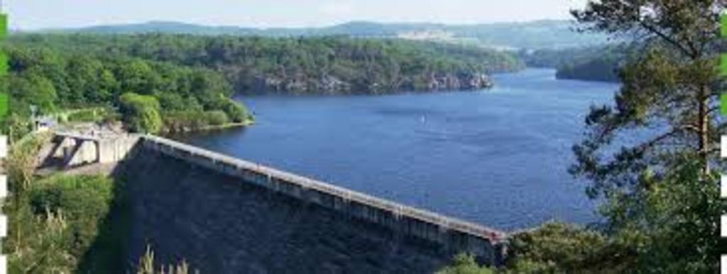 Guerledan's dam (15min drive)