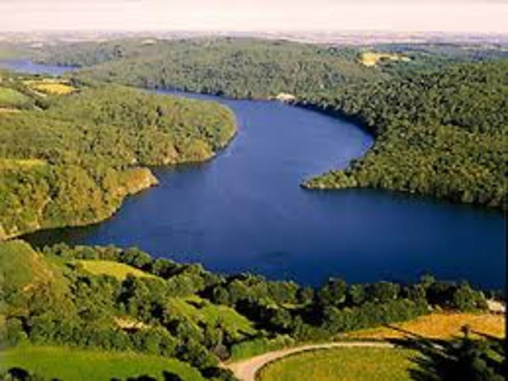 Guerledan's lake