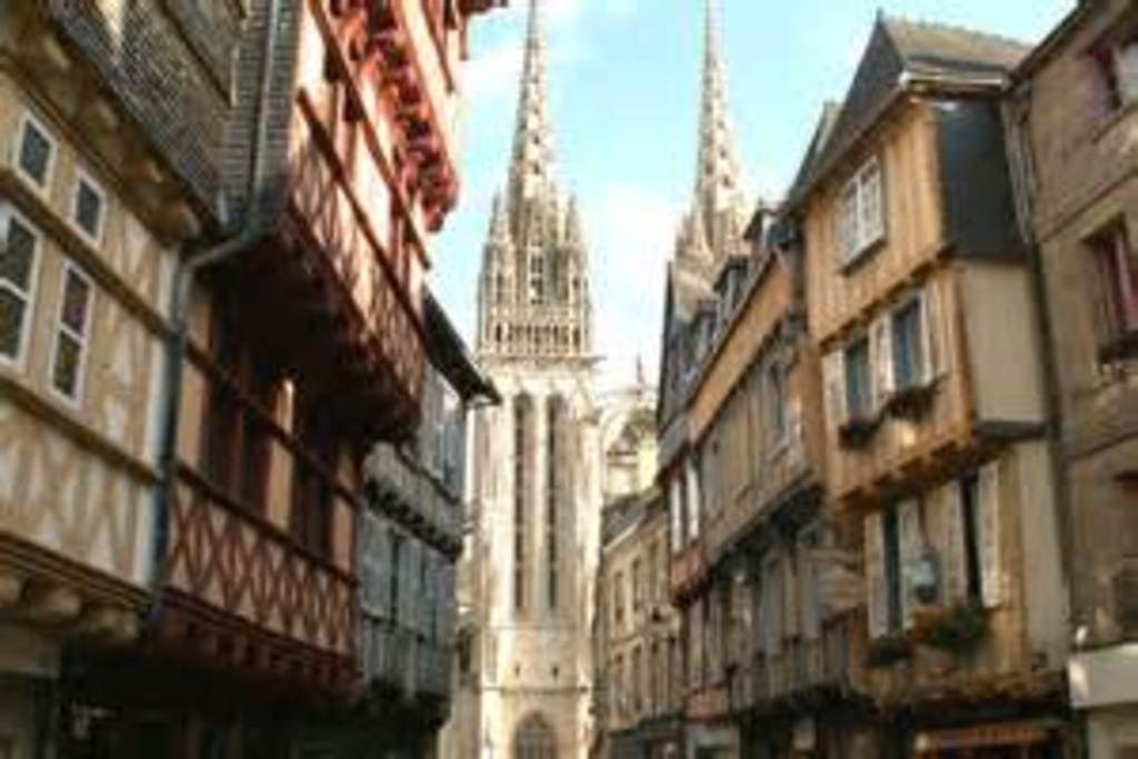 A view of the old Quimper 35 minutes