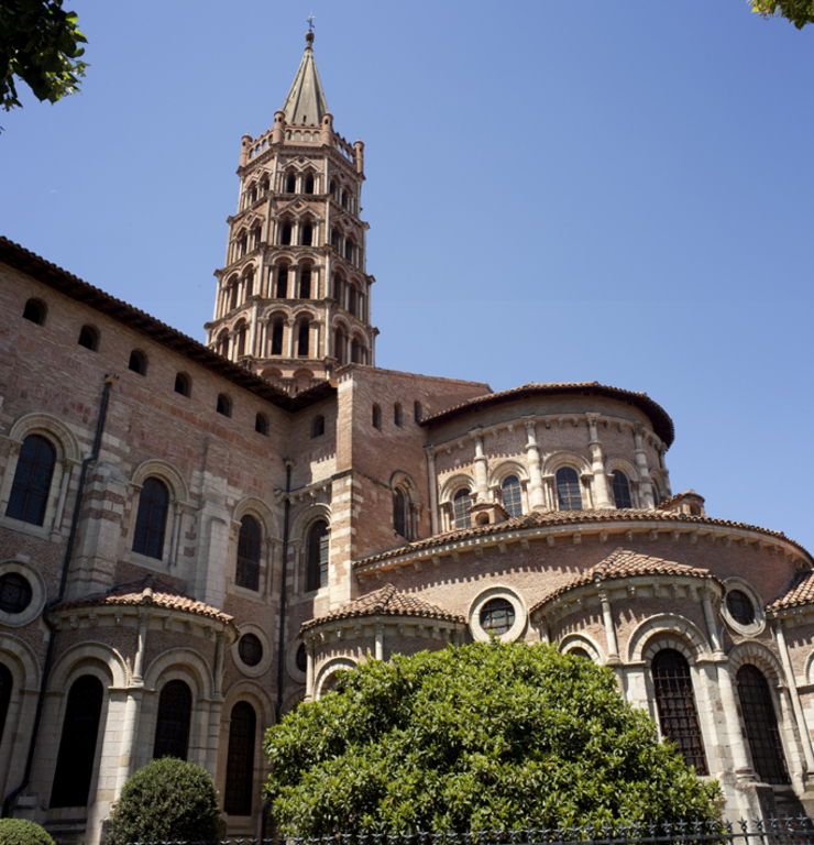 Toulouse : basilique Saint Sernin (15 min walk from home)