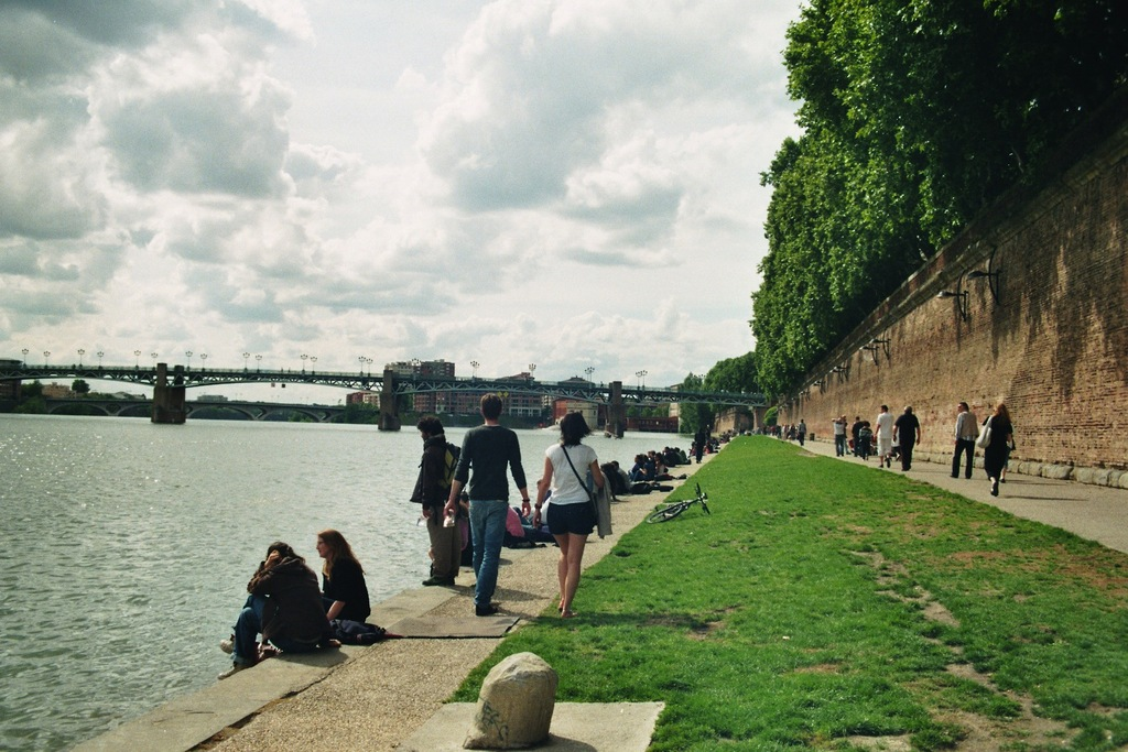 The promenade by the river, close to the Pont Neuf. 200 m from home.
