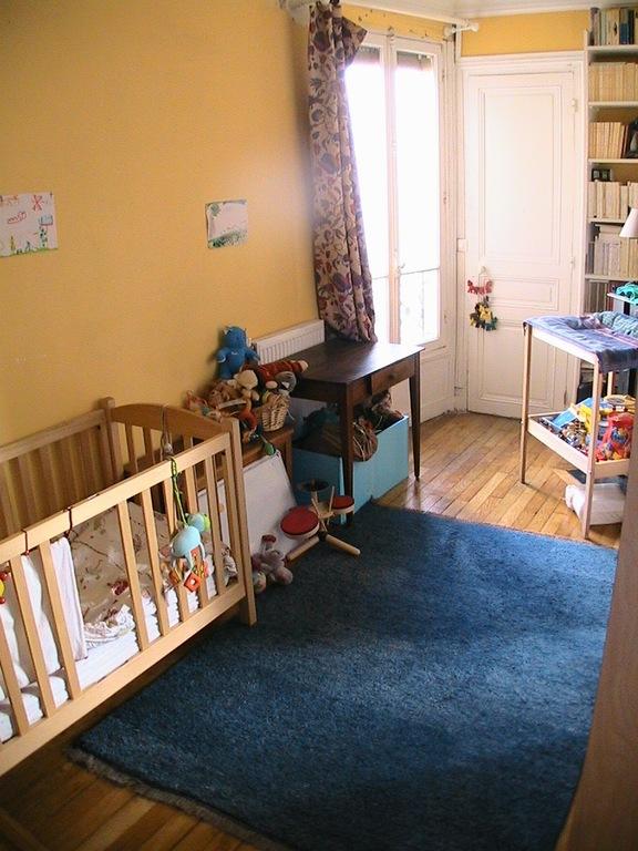 Chambre 1 (possibilité de lit 1 personne adulte)