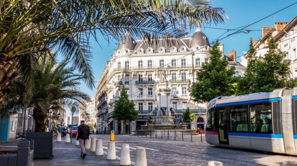 Grenoble city