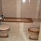 The well heated bathroom