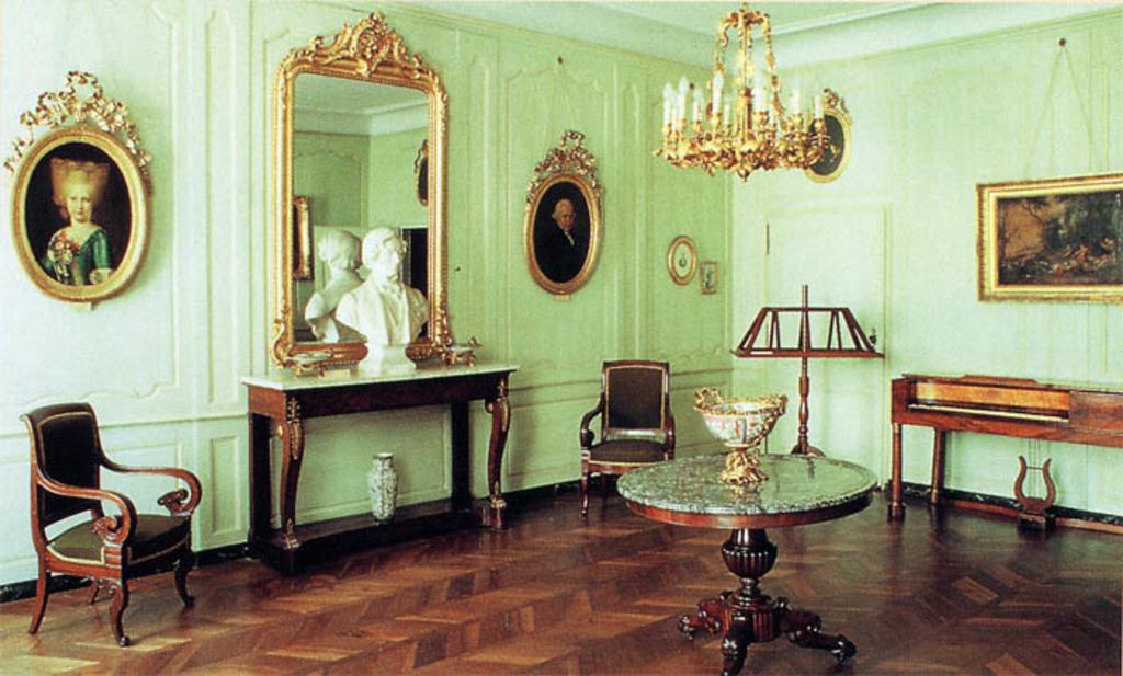 Berlioz museum in La Côte Saint André