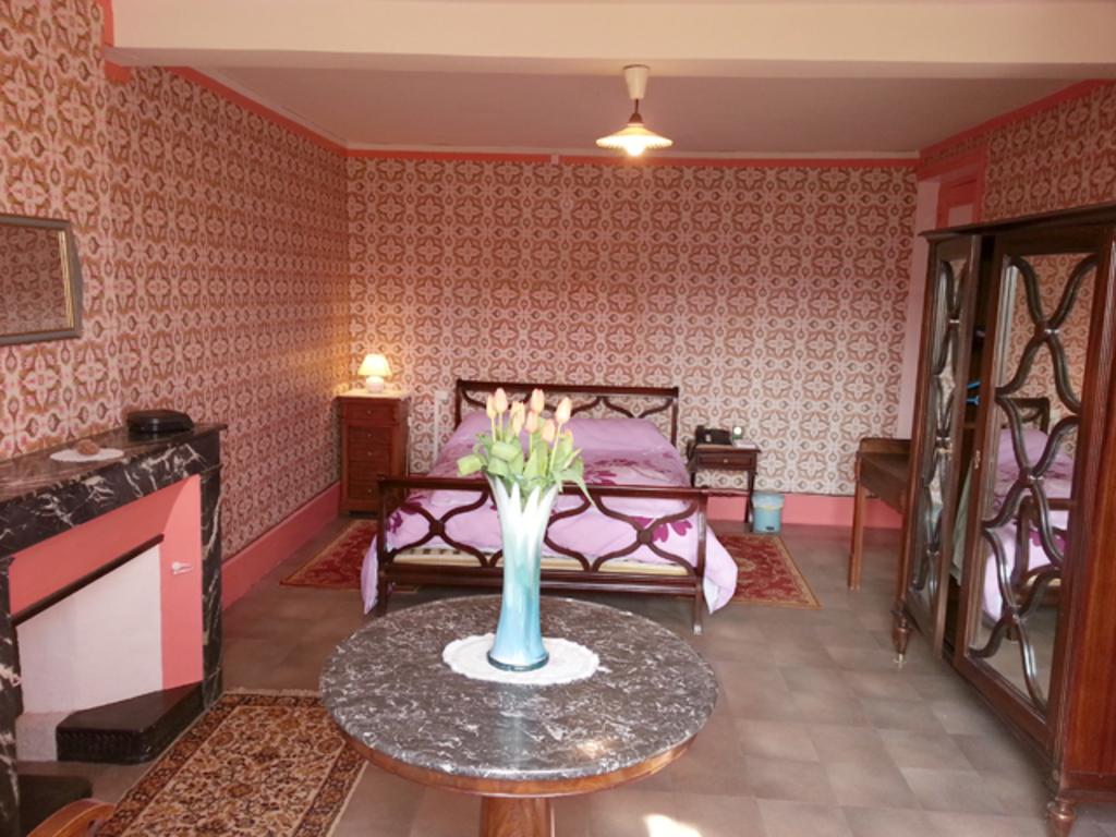 Large spacious master bedroom.