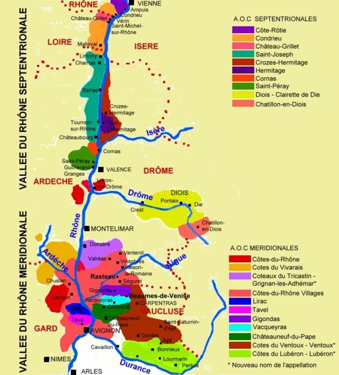 Rhône Valley products
