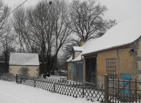 Souvigny en hiver