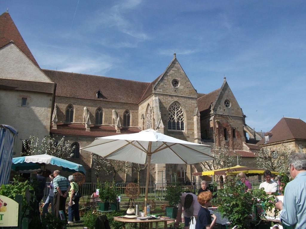 Souvigny, the village