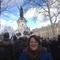 La marche le 11 janvier 2015 à Paris .Place de la République