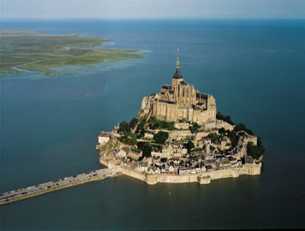 With a car, you can visit Normandy and famous Mont-Saint-Michel