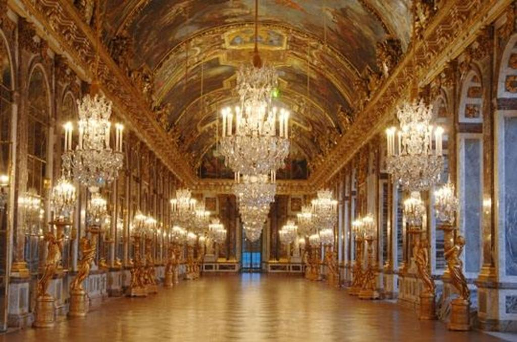 galerie des glaces in Versailles