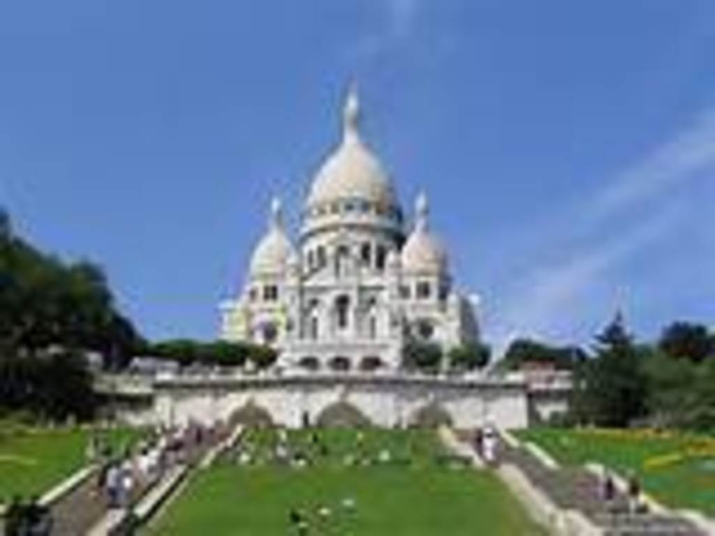 Sacre Coeur in north of Paris