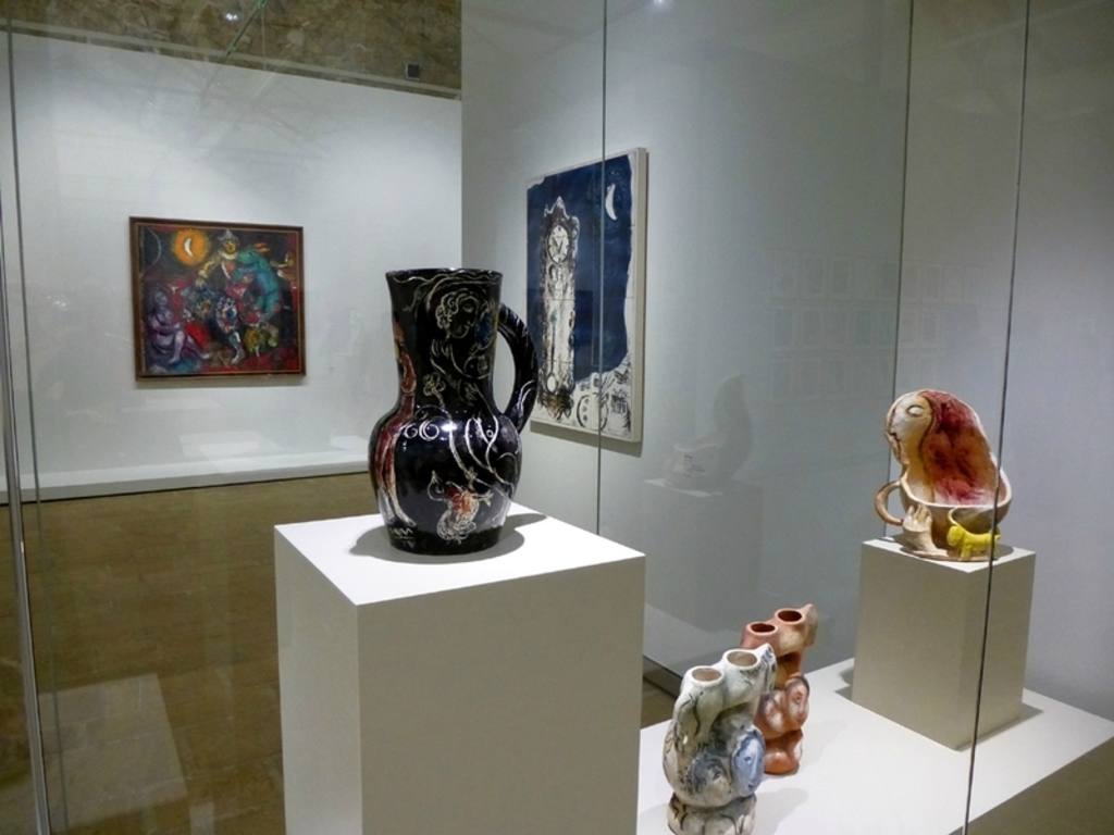 Chagall at the Leclerc foundation. In 2017, during the summer you can find 250 Picasso paintings
