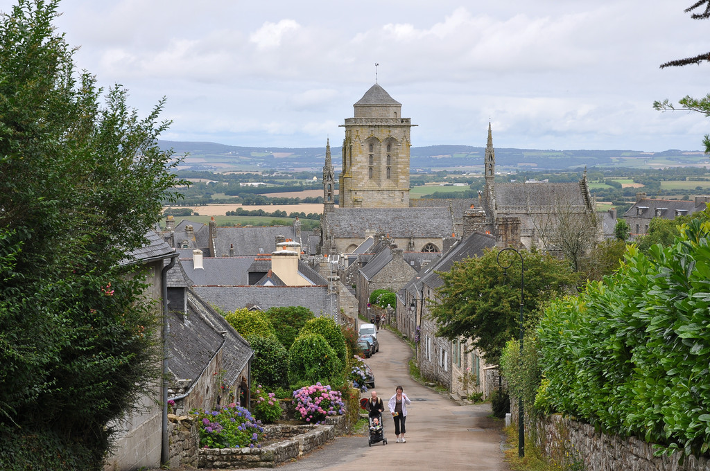 Locronan a city with artisans and artists