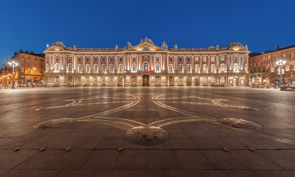 Place du Capitole in Toulouse