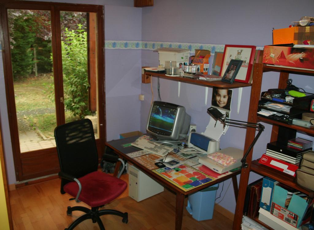 The study/computer room