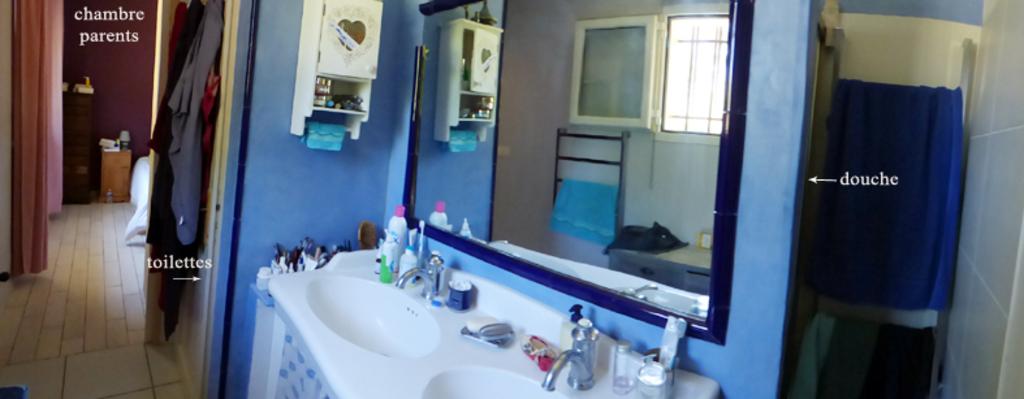 sdb toilettes chambre parents / ensuite room parents
